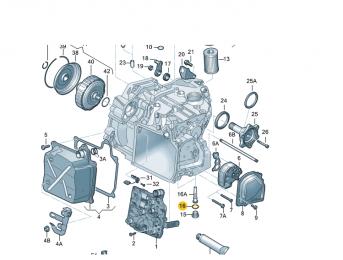 Кольцо уплотнительное DSG6 24X29