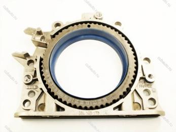 Крышка блока двигателя задняя 2.0 TDI 08~   Диз.двигат.CFHD
