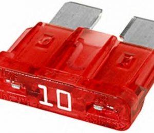 1904529905  предохранитель !10A красный