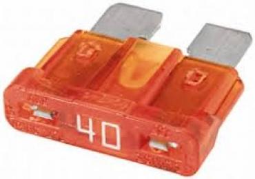 1987529036  предохранитель! плоский стандартный 40A оранжевый